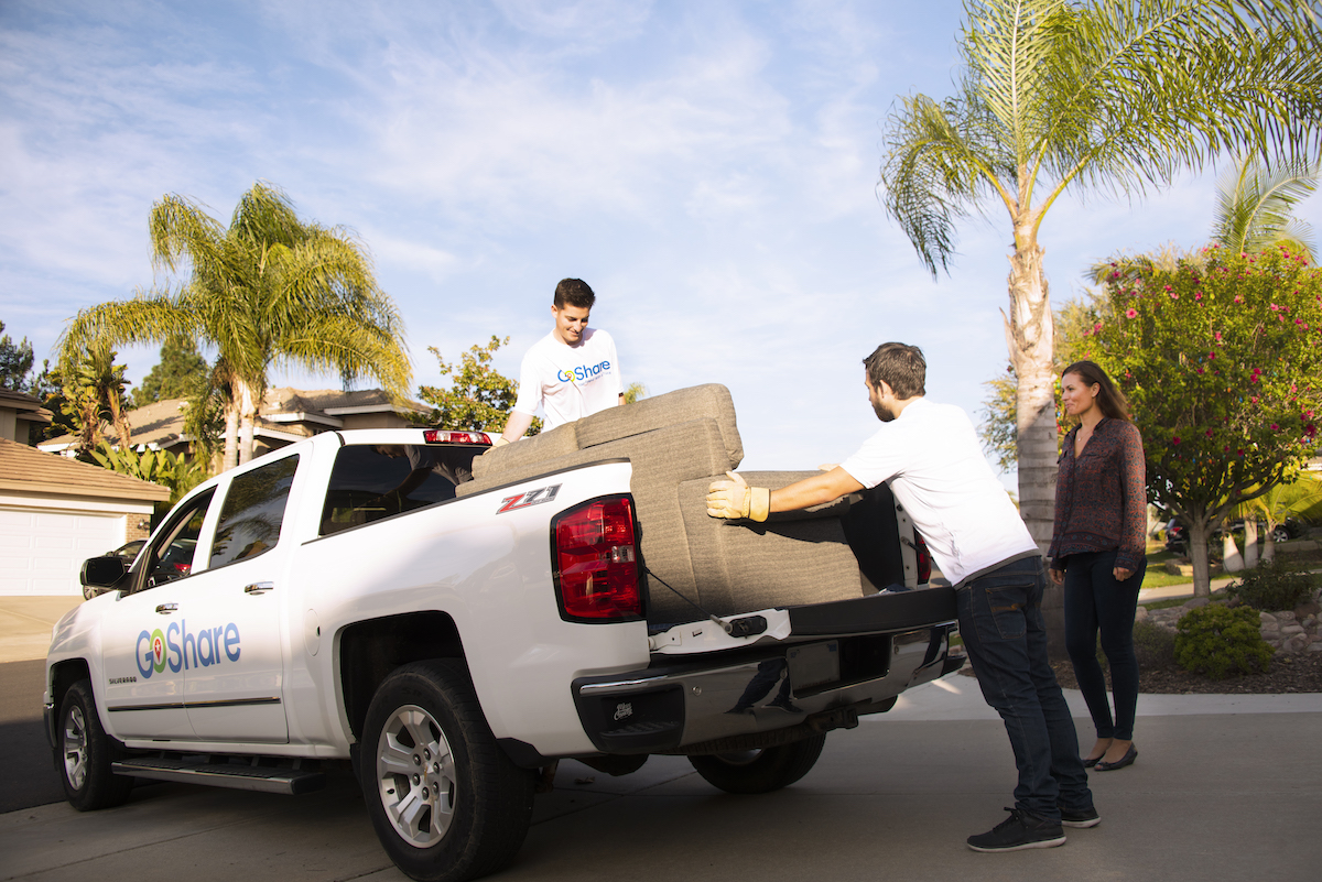 Connect San Diego Startup Business Company GoShare truck rental