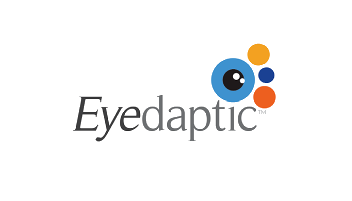 connect quickpitch 2019 san diego eyedaptic inc fundraising program startup business logo