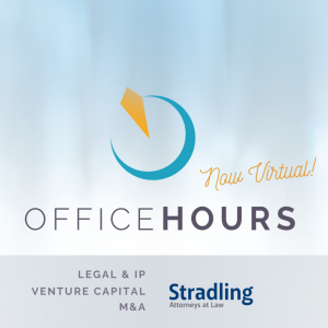 Connect San Diego Venture Business Startup Company Community Event Office Hours Legal Stradling April 2020 04