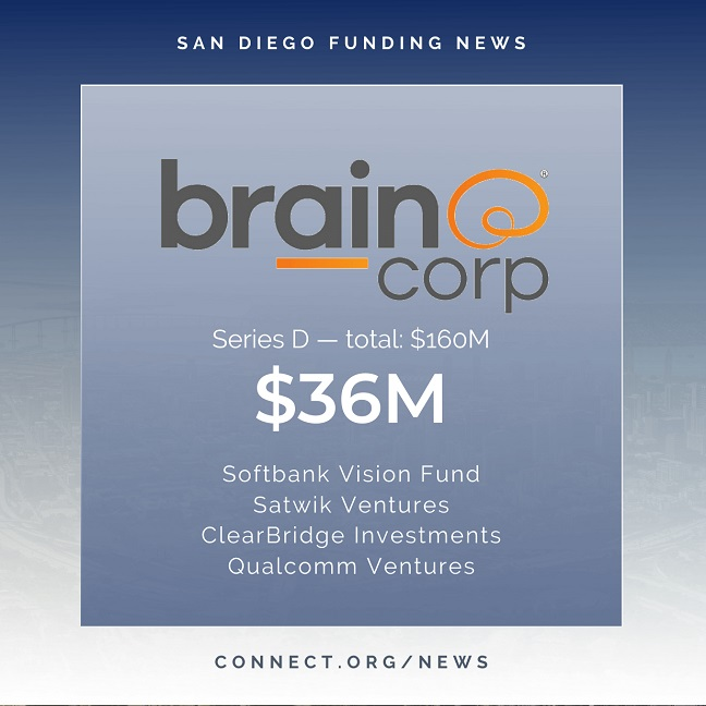 Connect San Diego Funding News 2020 04 28 BrainCorp 36M Instagram