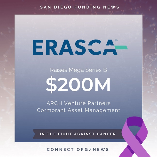 Connect San Diego Funding News 2020 04 30 Erasca 200M Instagram