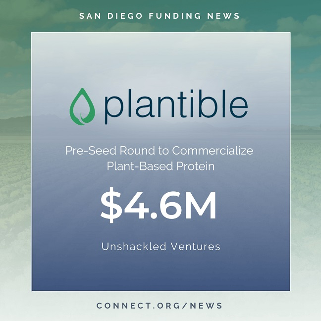 Connect San Diego Funding News 2020 05 05 PlantibleFoods 4 6M Instagram